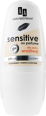 Deo Roll-on Antitranspirant für empfindliche Haut - AA Cosmetics Deo Anti-Perspirant Sensitive 24H — Bild N1