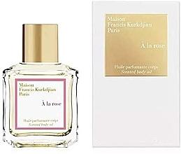 Düfte, Parfümerie und Kosmetik Maison Francis Kurkdjian A La Rose - Parfümiertes Körperöl