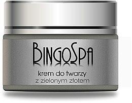 Düfte, Parfümerie und Kosmetik Gesichtscreme mit grünem Gold - BingoSpa