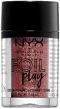Cremiger Pigment-Lidschatten - NYX Professional Makeup Foil Play Cream Pigment — Bild N1