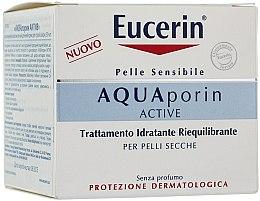 Düfte, Parfümerie und Kosmetik Gessichtscreme - Eucerin AquaPorin Active Deep Long-lasting Hydration For Dry Skin