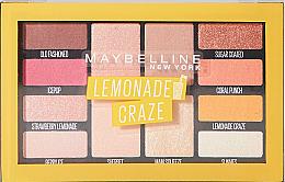 Düfte, Parfümerie und Kosmetik Lidschattenpalette mit 12 Farben - Maybelline Lemonade Craze Palette