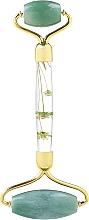 Düfte, Parfümerie und Kosmetik Gesichtsmassage-Roller aus grüner Jade mit Blumen - Lash Brow Roller