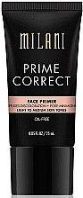 Gesichtsprimer zur Porenverfeinerung hell/Medium - Milani Prime Correct Diffuses Discoloration + Pore-minimizing Face Primer Light/Medium — Bild N1