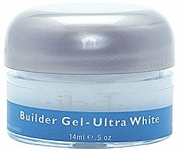 Aufbau Nagelgel ultra weiß - IBD Builder Gel Ultra White — Bild N2