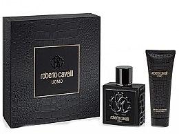 Düfte, Parfümerie und Kosmetik Roberto Cavalli Uomo - Kosmetikset (Eau de Toilette/100ml + Duschgel/75ml)