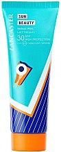 Düfte, Parfümerie und Kosmetik Sonnenschutzmilch für den Körper SPF 30 - Lancaster Summer Collection Sun Beauty Velvet Milk Body SPF30