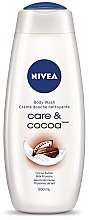 Düfte, Parfümerie und Kosmetik Creme-Duschgel - Nivea Cocoa Cream Shower Gel