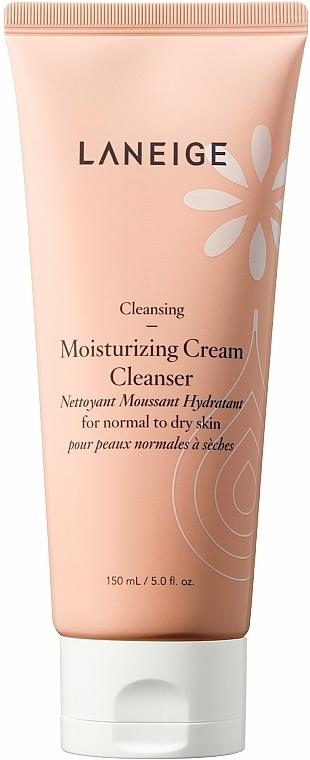 Feuchtigkeitsspendender Gesichtsreinigungsschaum für normale und trockene Haut - Laneige Moist Cream Cleanser — Bild N1