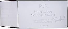 Düfte, Parfümerie und Kosmetik 4in1 Loser Fixierpuder für das Gesicht - Pur 4-in-1 Loose Setting Powder