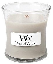 Düfte, Parfümerie und Kosmetik Duftkerze im Glas Warm Wool - WoodWick Hourglass Candle Warm Wool