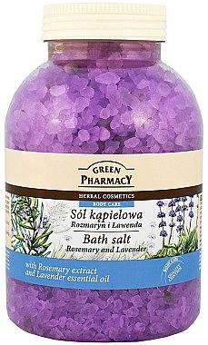 Badesalz mit Rosmarinextrakt und Lavendelöl - Green Pharmacy — Bild N1
