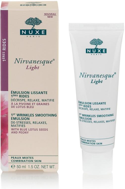 Leichte glättende Gesichtsemulsion gegen die ersten Falten für Mischhaut - Nuxe Nirvanesque Light 1st Wrinkles Smoothing Emulsion — Bild N2