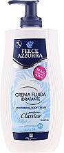 Düfte, Parfümerie und Kosmetik Feuchtigkeitsspendende Körpercreme mit Vitamin B5 - Felce Azzurra Classic Moisturizing Cream