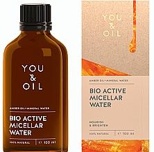 Düfte, Parfümerie und Kosmetik Mizellenwasser mit Bernsteinöl - You & Oil Amber. Bio Active Micellar Water