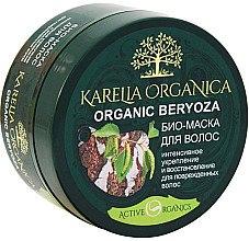 Düfte, Parfümerie und Kosmetik Intensiv stärkende und regenrierende Bio Maske mit Birke für stapaziertes Haar - Fratti HB Karelia Organica