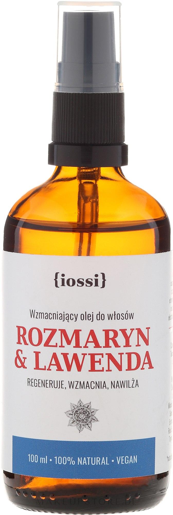 Regenerierendes Haaröl mit Rosmarin und Lavendel - Iossi — Bild 100 ml