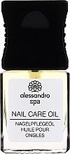 Düfte, Parfümerie und Kosmetik Pflegendes Nagelöl - Alessandro International Spa Nail Care Oil