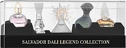 Düfte, Parfümerie und Kosmetik Salvador Dali Legend Collection - Duftset (Eau de Toilette 5ml + Eau de Toilette 8ml + Eau de Toilette 5ml + Eau de Toilette 5ml + Eau de Toilette 5ml)