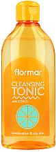 Düfte, Parfümerie und Kosmetik Reinigendes Gesichtstonikum mit Zitrusfrüchten - Flormar Cleasing Tonic Citrus