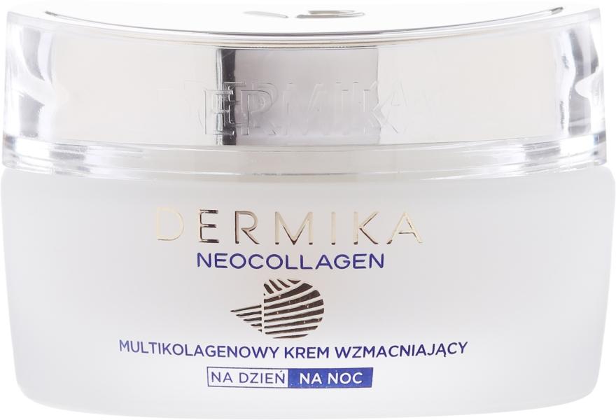 Stärkende Anti-Falten Gesichtscreme für Tag und Nacht 50+ - Dermika Neocollagen Cream +50 — Bild N2