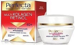 Düfte, Parfümerie und Kosmetik Glättende Anti-Falten Gesichtscreme mit Kollagen und Retinol SPF 6 40+ - Dax Cosmetics Perfecta Multi-Collagen Retinol Face Cream 40+