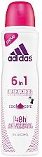 Düfte, Parfümerie und Kosmetik Deospray Antitranspirant - Adidas Anti-Perspirant 6 in 1 Cool&Care 48h