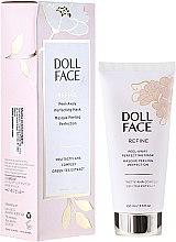 Düfte, Parfümerie und Kosmetik Vollendende Gesichtsgelmaske für alle Hauttypen - Doll Face Refine Peel-Away Refining Gel Mask