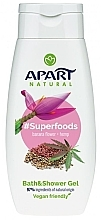 Düfte, Parfümerie und Kosmetik Bade- und Duschgel mit Bananenblüte und Hanf - Apart Natural Superfoods Banana Flower and Hemp