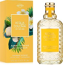 Düfte, Parfümerie und Kosmetik Maurer & Wirtz 4711 Acqua Colonia Intense Sunny Seaside Of Zanzibar - Eau de Cologne
