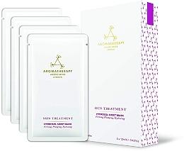 Düfte, Parfümerie und Kosmetik Verjüngende Hydrosol-Tuchmaske für das Gesicht - Aromatherapy Associates Skin Treatment Hydrosol Sheet Mask