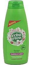Düfte, Parfümerie und Kosmetik Shampoo für glattes Haar mit Seidenproteinen - Erba Viva Shampoo for Straight Hair