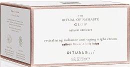 Düfte, Parfümerie und Kosmetik Revitalisierende Anti-Aging Nachtcreme mit Safranblüte und Lotosblume - Rituals The Ritual Of Namaste Anti-Aging Night Cream