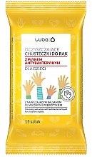 Düfte, Parfümerie und Kosmetik Antibakterielle Feuchttücher für Kinder - Luba