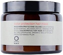 Düfte, Parfümerie und Kosmetik Haarmaske für coloriertes Haar - Rolland Oway ColorUp