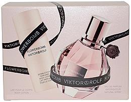 Düfte, Parfümerie und Kosmetik Viktor & Rolf Flowerbomb - Duftset (Eau de Parfum/50ml + Körperlotion/50ml)