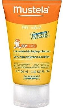 Sonnenschutzlotion für Kinder und Babys SPF 50+ - Mustela Bebe Enfant Very High Protection Sun Lotion SPF 50+ — Bild N1