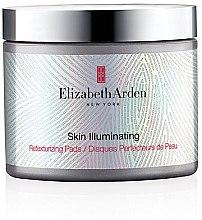 Düfte, Parfümerie und Kosmetik Gesichtsreinigungspads mit Aufhellungs- und Peeling-Effekt - Elizabeth Arden Skin Illuminating Retexturizing Pads