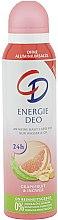 Düfte, Parfümerie und Kosmetik Deospray Grapefruit & Ingwer - CD Energie Deo Spray Grapefruit & Ingwer