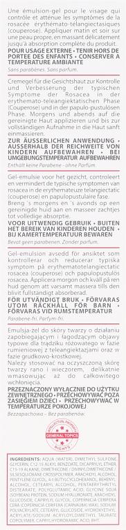 Cremegel für die Gesichtshaut mit Rosacea - Synchroline Rosacure Fast — Bild N3