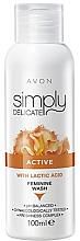 Düfte, Parfümerie und Kosmetik Creme-Gel für die Intimhygiene mit Milchsäure - Avon Simpy Delicate Feminine Wash