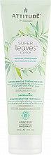 Düfte, Parfümerie und Kosmetik Pflegende und stärkende Haarspülung mit Traubenkernöl und Olivenblättern für geschädigtes Haar - Attitude Conditioner Nourishing & Strengthening Grape Seed Oil & Olive Leaves