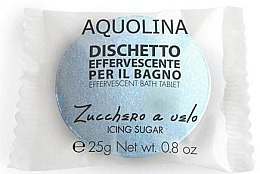 Düfte, Parfümerie und Kosmetik Badebombe - Aquolina Effervescent Bath Tablet Icing sugar