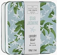 Düfte, Parfümerie und Kosmetik Luxuriöse Seife im Metallbox Sternjasmin - Scottish Fine Star Jasmine Soap In A Tin