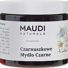 Düfte, Parfümerie und Kosmetik Schwarze Seife mit Kümmel - Maudi