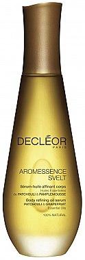 Körperserum mit ätherischen Ölen Grapefruit und Patchouli - Decleor Aromessence Svelt Body Refining Oil Serum — Bild N1