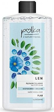 Mizellen Reinigungslotion mit Lein - Polka Micellar Water — Bild N1