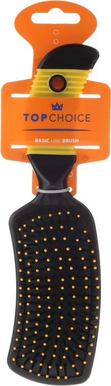 Haarbürste schwarz-gelb 2670 - Top Choice — Bild N1