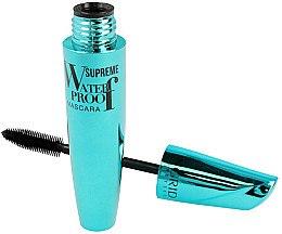 Düfte, Parfümerie und Kosmetik Wasserfeste Wimperntusche - Ingrid Cosmetics Supreme Waterproof Mascara