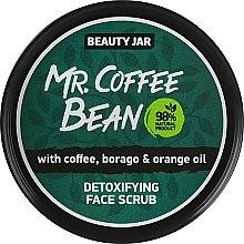Düfte, Parfümerie und Kosmetik Detox Gesichtspeeling mit Kaffee, Borretsch und Orangeöl - Beauty Jar Detoxifying Face Scrub